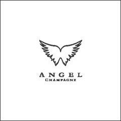 ロゴ、ANGEL-JAPAN株式会社(エンジェルシャンパン)_透過