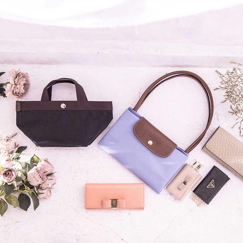 インスタグラム用のバッグ&小物商品撮影、アイキャッチ画像(8n-115)