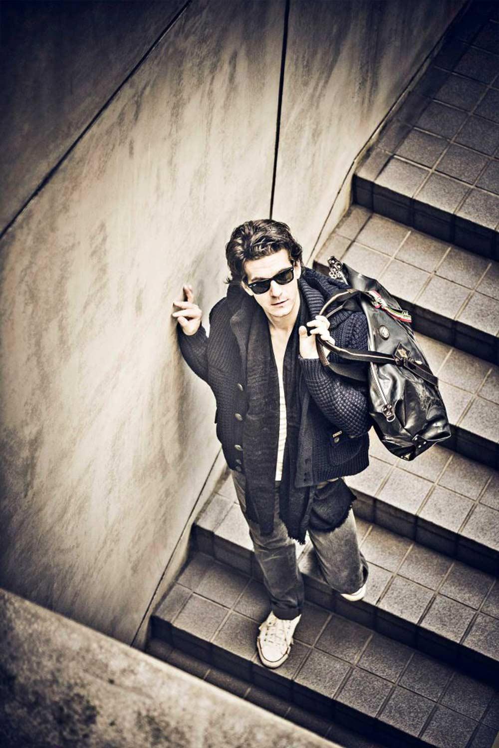 通販(ECサイト)用、アパレルファッション モデル メンズ撮影の写真です。クライアントはagioです。(11m-188)