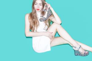 LP(ランディングページ)用、シューズファッション モデル レディース撮影の写真です。クライアントはAMAZING CIRCUSです。(1p-171)